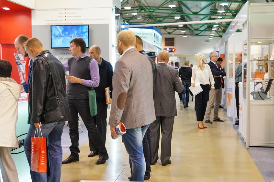 Visitors of the 8th exhibition
