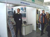 The stand of the company UTTIS, furnaces