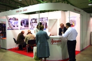 The stand of the company Ipsen equipment for heat treatment & thermo-chemical treatment of metals