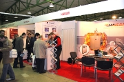 The stand of the company Nakal - production of thermal equipment, representatives of the AFC-Holcroft and Super Systems Inc