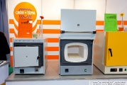 The stand of the company Snol-Term, muffle furnaces, laboratory equipment