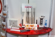 The stand of the company Sandvik: the production of materials resistance, heating elements and heating systems