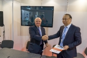 The conclusion of the cooperation agreement between Romit and BRIMET